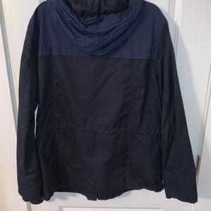 H&M Blue Rain Jacket